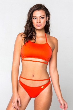 Bikini Sporty High Neck